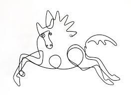 pablo picasso doodle