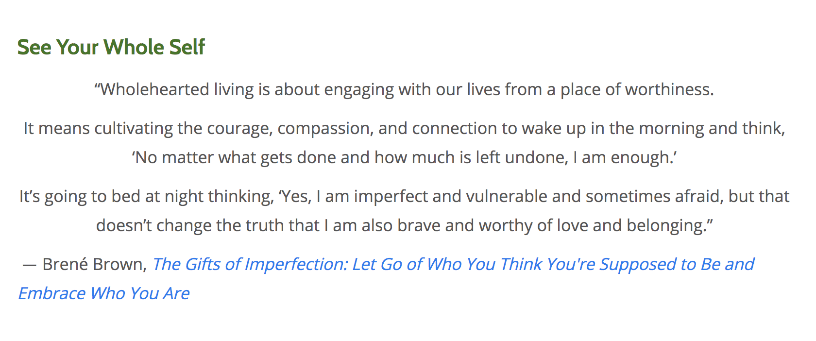 brene brown quotes on vulnerability