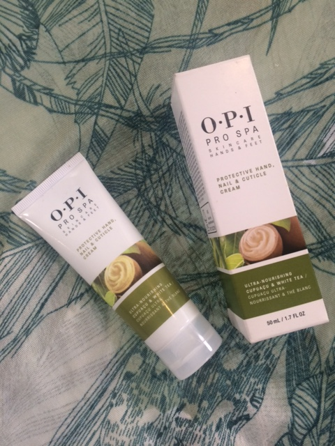 OPI PRO SPA protective nail, cuticle cream