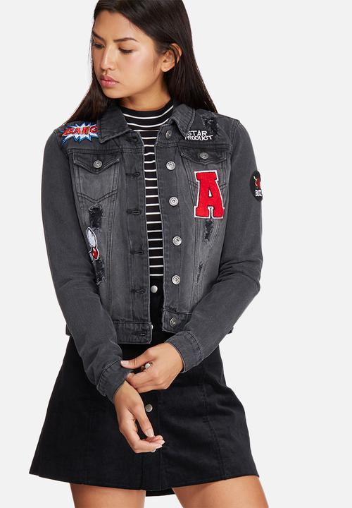 denim jacket ONLY @ Superbalist