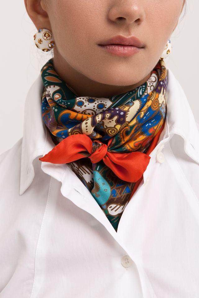 pinterest silk scarf