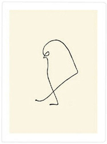 pablo picasso bird drawing