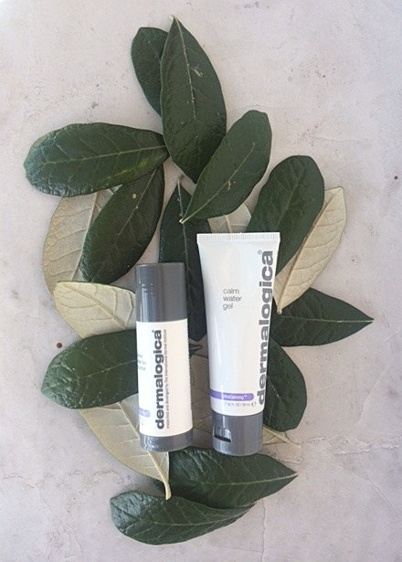 dermalogica barrier defense booster & dermalogica calm water gel