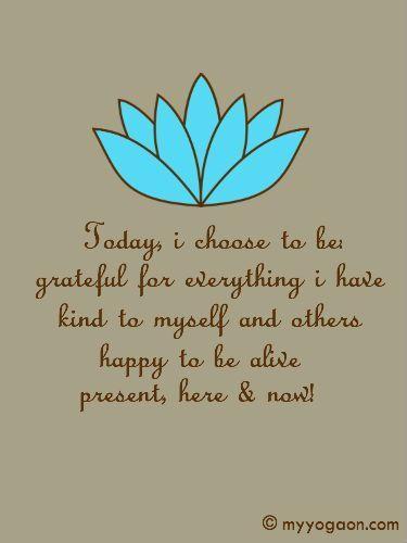 mindfulness & gratitude