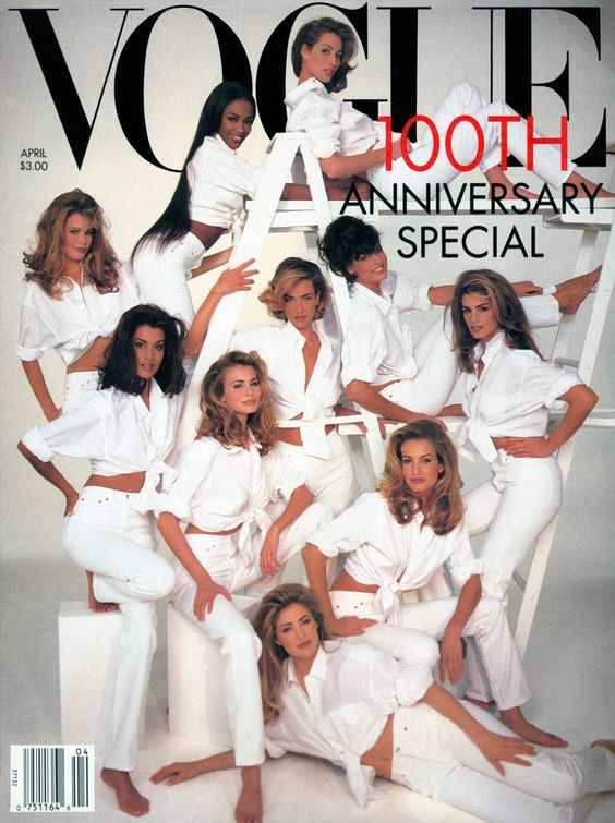 VOGUE 100 ANNIVERSARY COVER