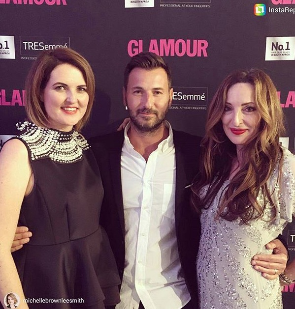pnina fenster ditor of glamour, michelle brownlee smith, deputy editor Glamour