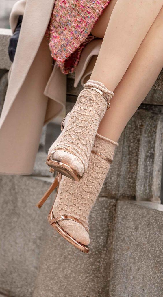 pinterest sock trend