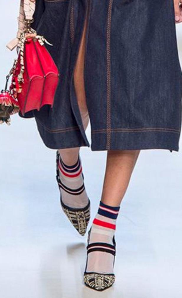 fendi socks trend