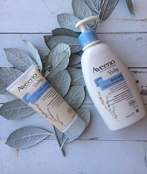 aveeno baby daily care range