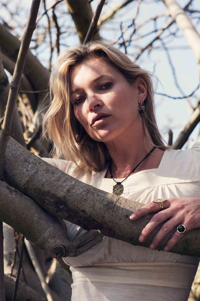 Kate Moss jewellery line with Ara Vertanian