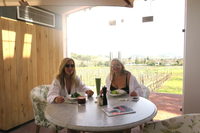 cathi trevr & liza weschta at lanzerac spa