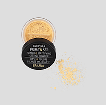 GOSH Prime 'N' Set Primer & Mattifying Banana Setting Powder
