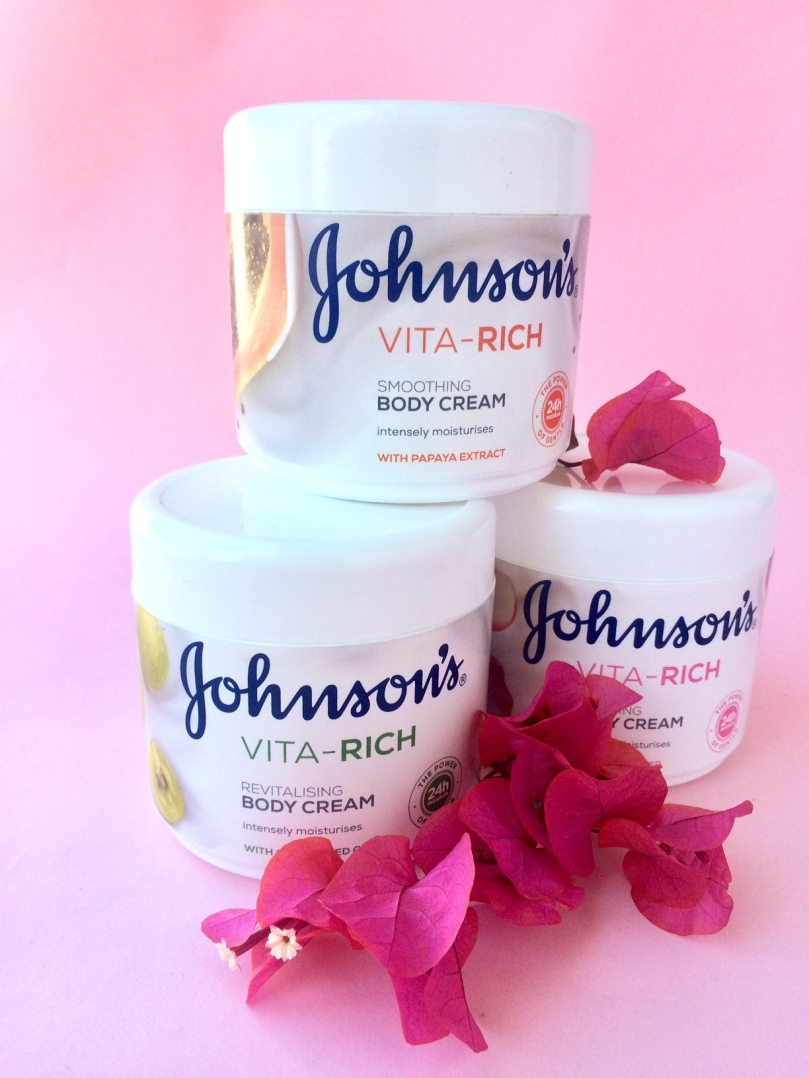 Johnson's vita-rich body creams