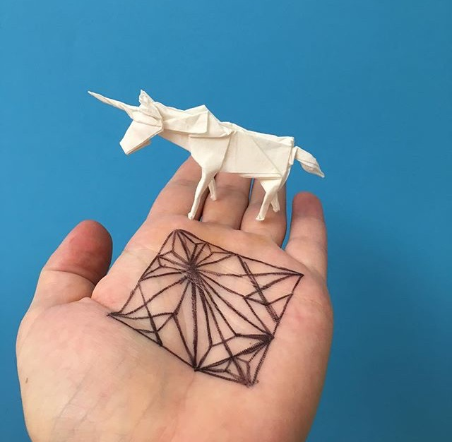 WHITE ON RICE ORIGAMI ARTIST
