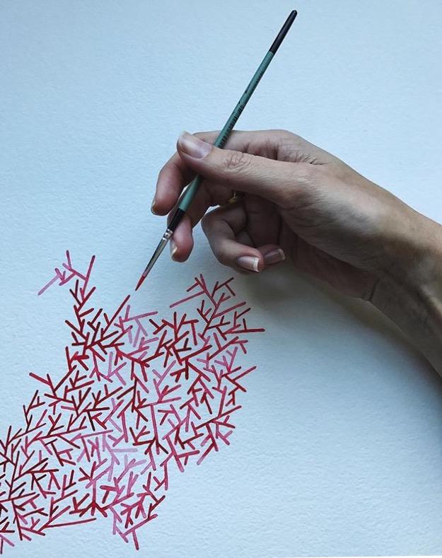 Billow studio artist Carine Muller