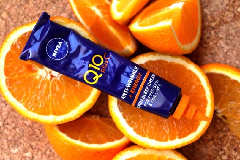 Nivea Q10PlusC Anti-Wrinkle + Energy Skin Sleep Cream