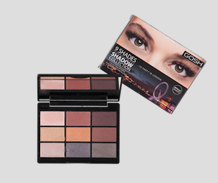GOSH 9 SHADES SHADOW COLLECTION TO PARTY IN LONDON