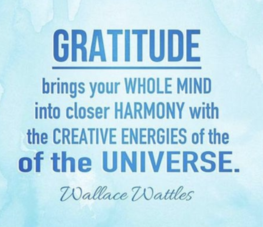 gratitude quote from pinterest