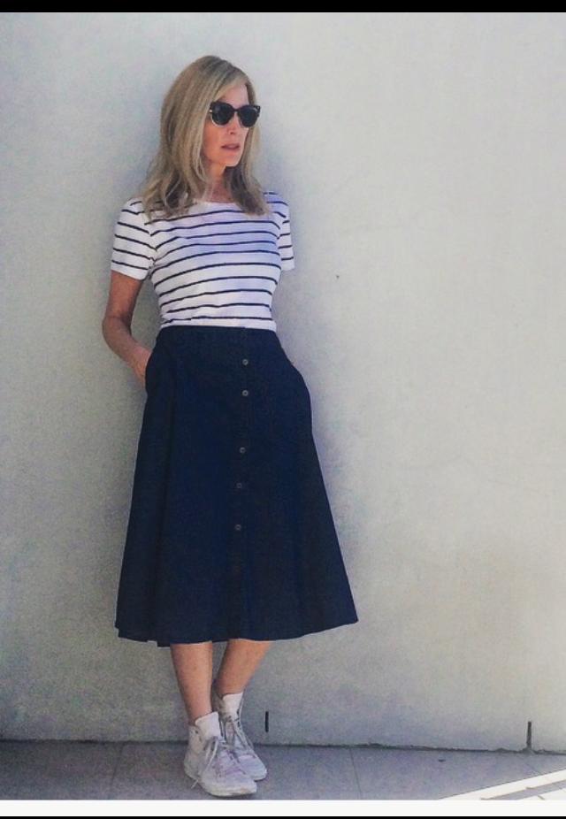 cathi trevor model blogger stylist