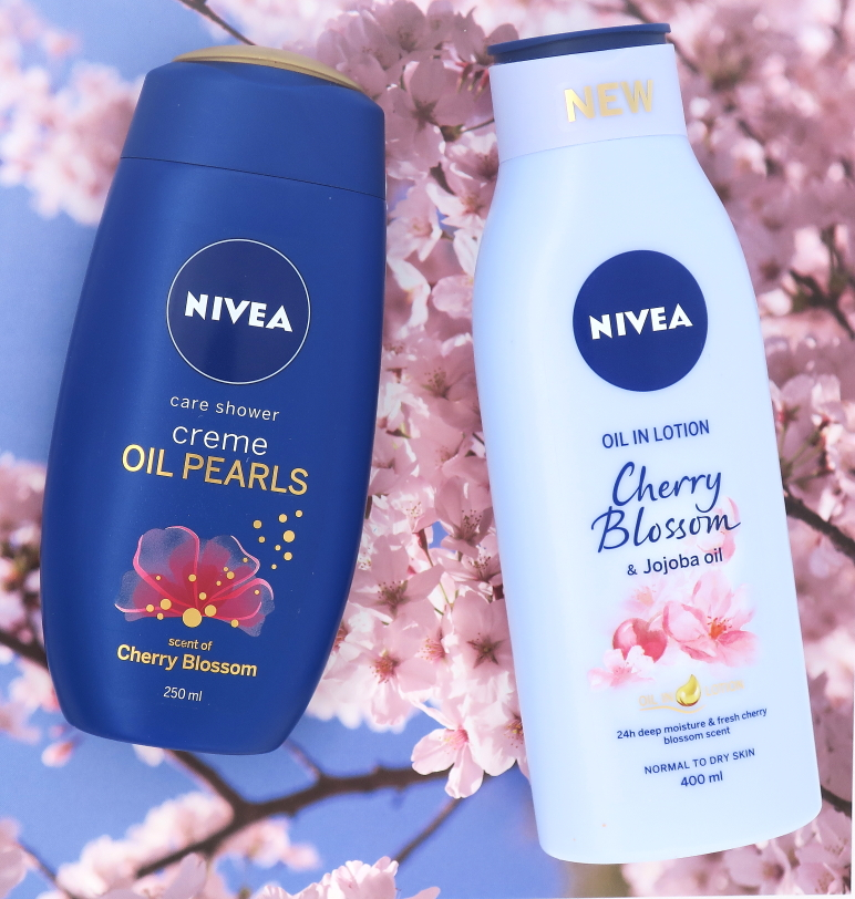 Nivea Oil Pearls Cherry Blossoom & Body Lotion