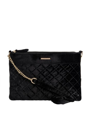 woolworths quilted velvet clutch