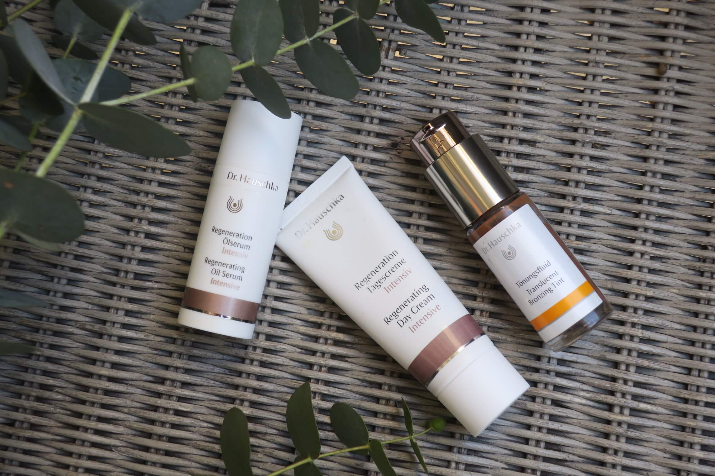 REVIEW: Dr Hauschka Regenerating Oil Serum, Regenerating Day Cream and Translucent Bronzing Tint