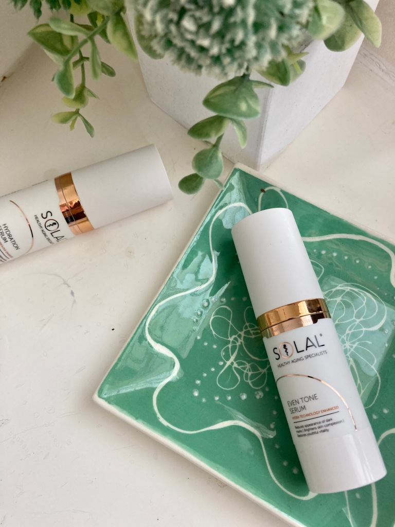 Solal Even Tone Serum & Solal Hydration Serum