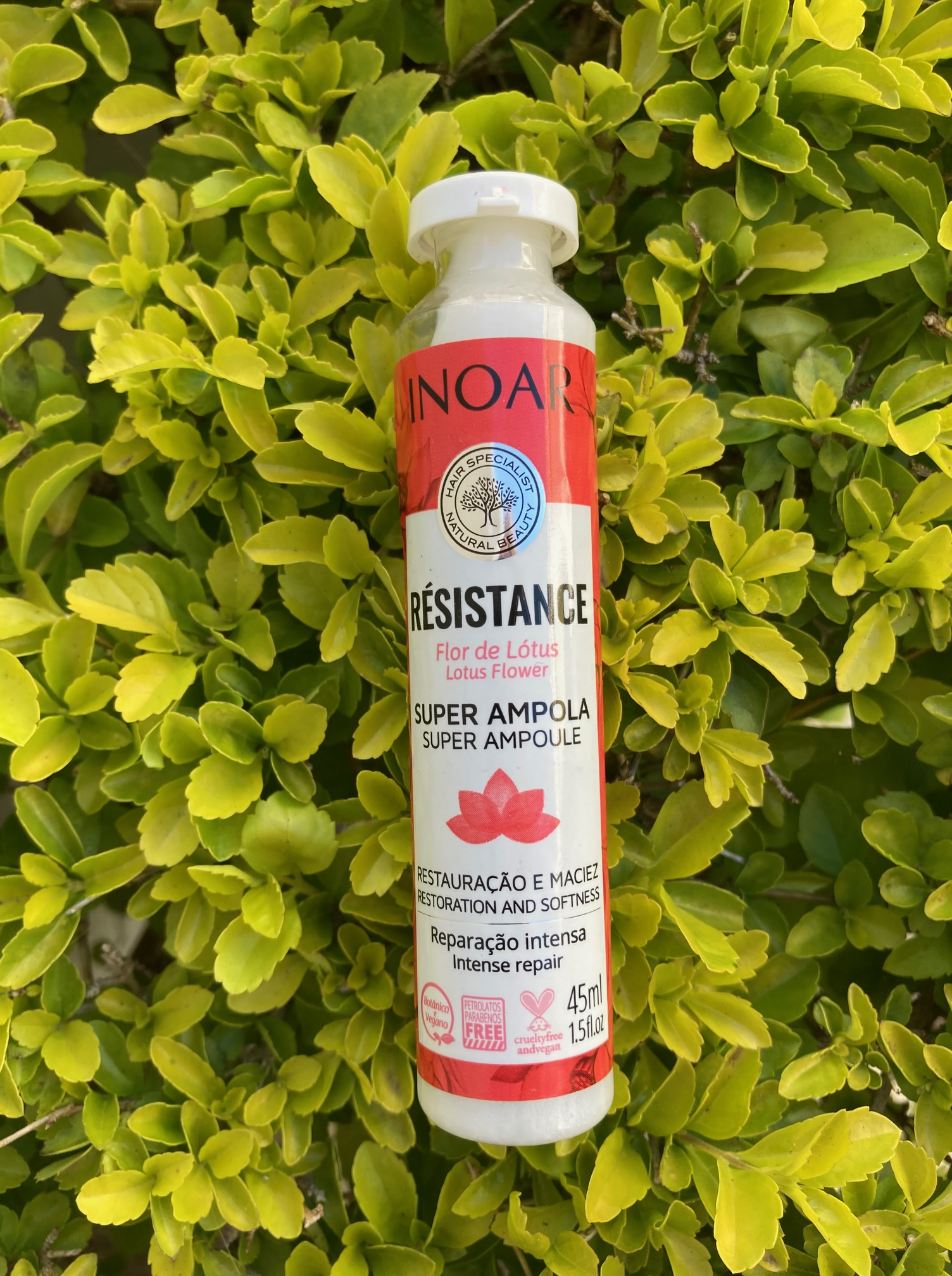 REVIEW: INOAR Resistance Lotus Super Ampoule